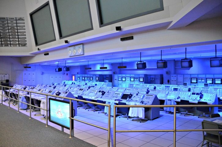NASA Kennedy Space Center - Apollo Mission Control