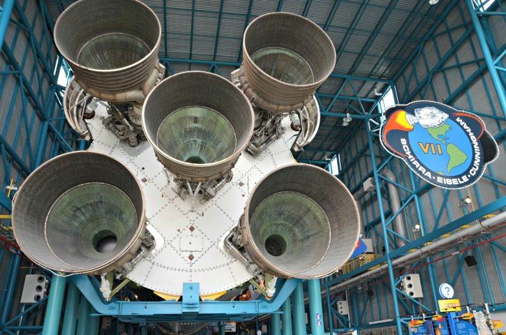 NASA Kennedy Space Center - Apollo & Saturn V