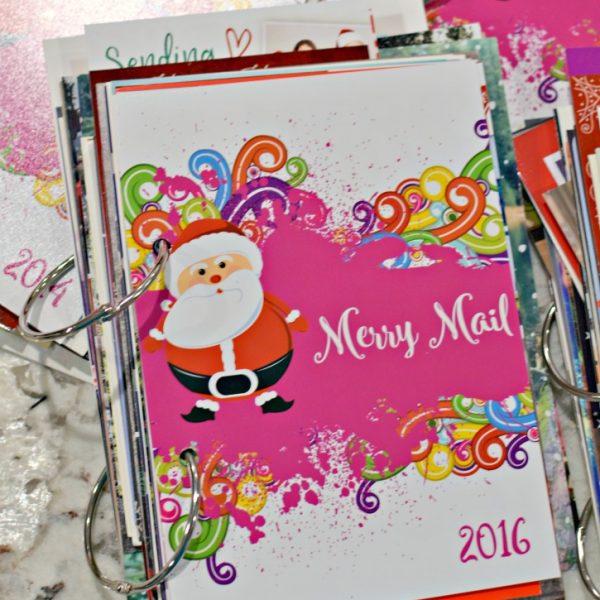 Saving Christmas Cards Each Year