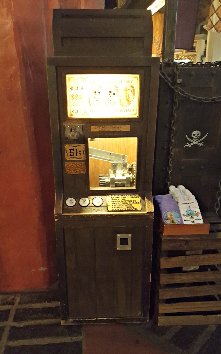 Walt Disney World Pressed Penny Machine