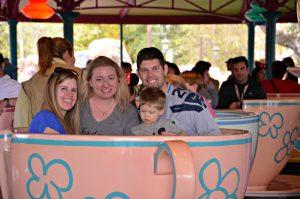 Walt Disney World Magic Kingdom Teacup Ride