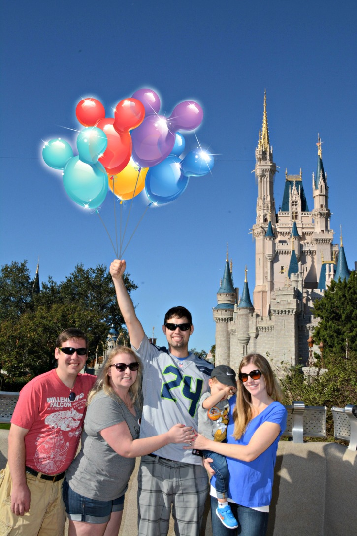 Magic Photos at Walt Disney World Magic Kingdom