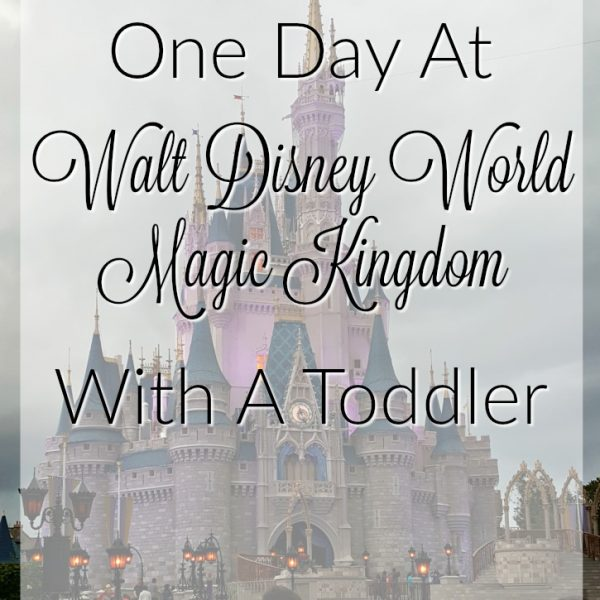 One Day At Walt Disney World Magic Kingdom – With A Toddler