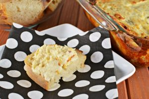 Cheesy Artichoke Dip Recipe