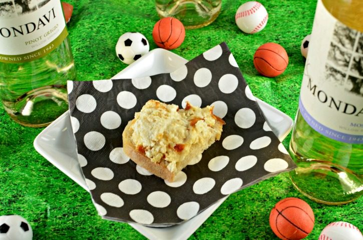 Cheesy Artichoke Dip Recipe - perfect for enjoying during sporting events