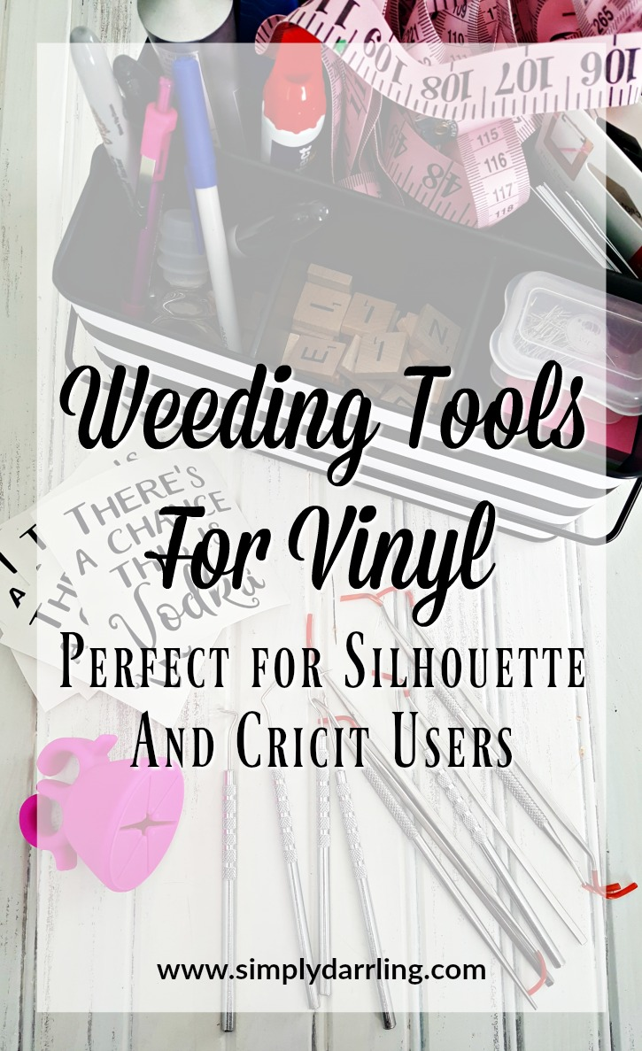 Weeding Tools for Vinyl - Perfect for Silhouette & Cricut Users