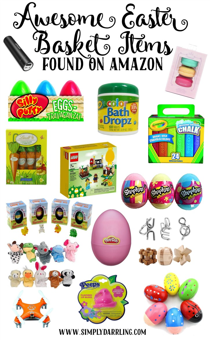 Awesome easter basket items found on amazon simply darrling negle Image collections