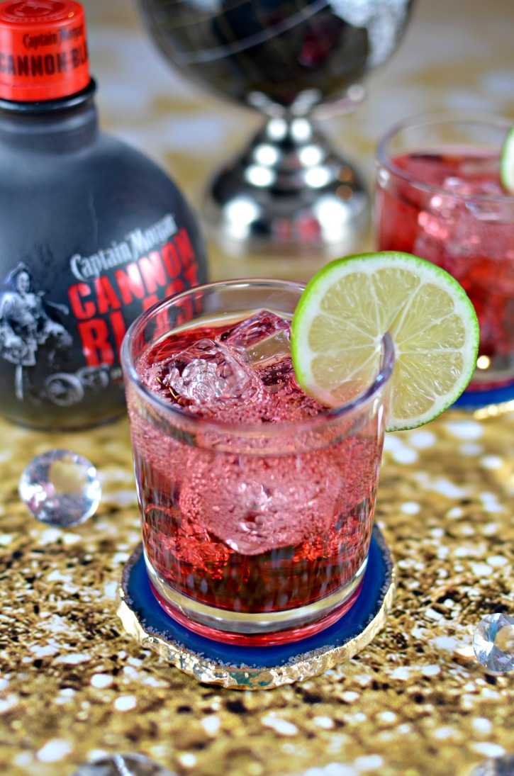 Captain Morgan Cannon Blast Spiced Cranberry Cocktail Recipe