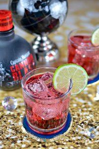 Captain Morgan Cannon Blast Spiced Cranberry Cocktail Recipe