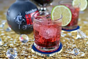 Captain Morgan Cannon Blast Cranberry Lime Cocktail