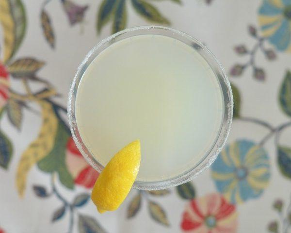Sparkling Lemon Drop – A Cocktail Recipe