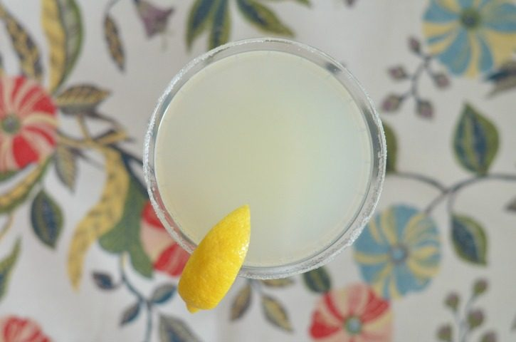 Sparkling Lemon Drop – A Cocktail Recipe