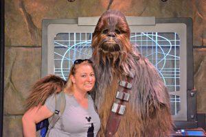 Disneyland Chewbacca Character