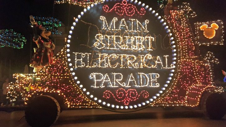 Disneyland Main Street Electrical Parade Float