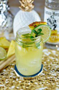 Pineapple Mojito featuring Captain Morgan Pineapple Rum