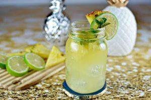Pineapple Mojito featuring Captain Morgan Pineapple Rum