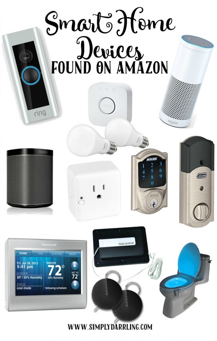Awesome Smart Home Devices Found On Amazon Simply Darr Ling