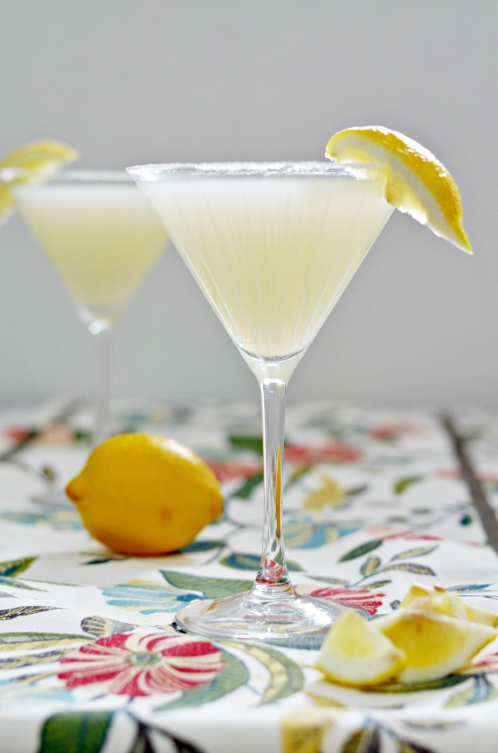 sparkling lemon drop cocktail recipe simply darr ling