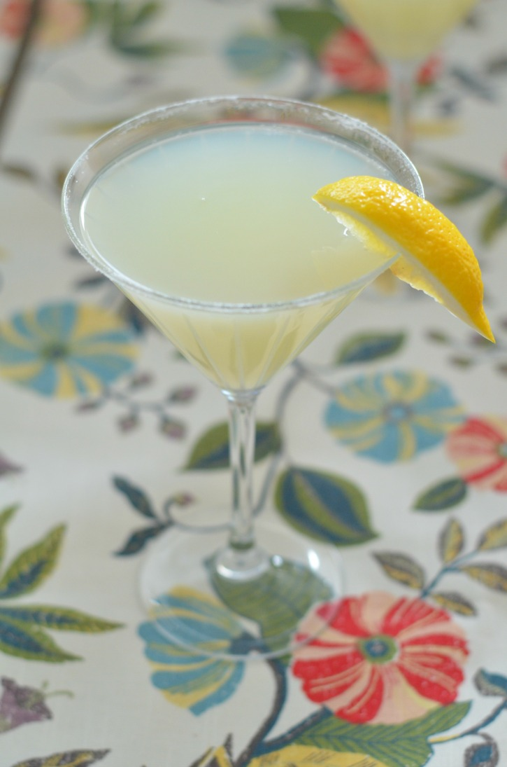 Sparkling Lemon Drop - A Cocktail REcipe