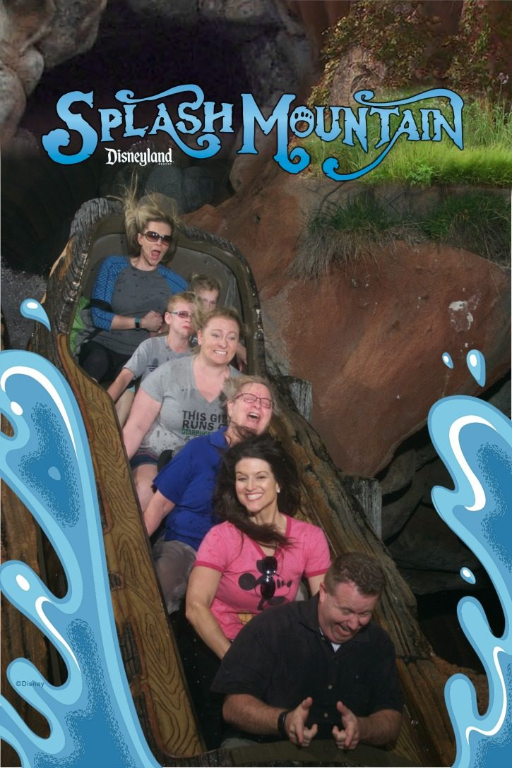 Splash Mountain Disneyland Ride Photo