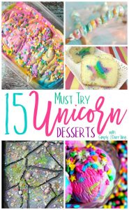 15 Must Try Unicorn Desserts