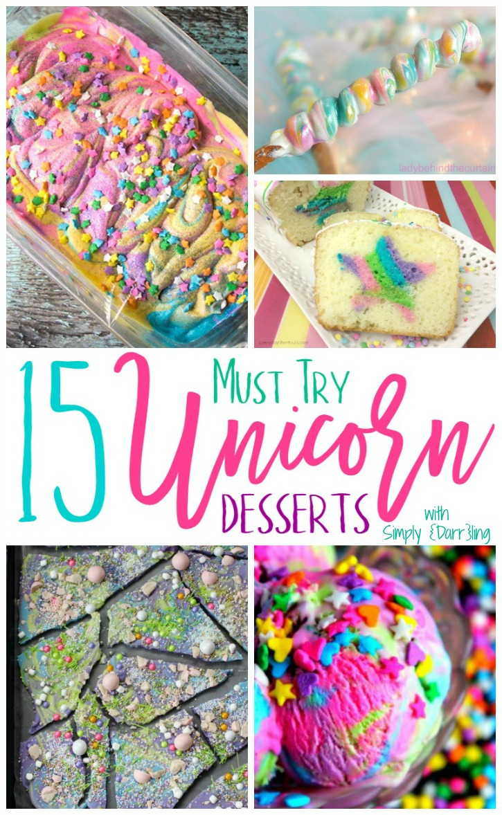 15 Must Try Unicorn Desserts Simply Darr Ling