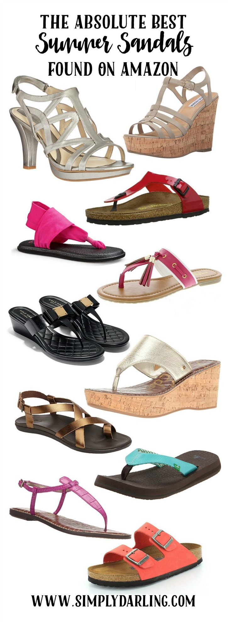 Absolute Best Summer Sandals Found On Amazon