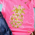 DIY Be A Pineapple T-Shirt – A Heat Transfer Vinyl Project