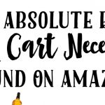The Absolute Best Drink Cart Necessities Found On Amazon