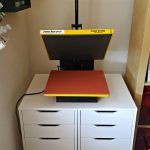 Heat Press Storage Ikea Hack
