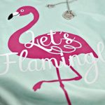 Let's Flamingle DIY Flamingo T-Shirt