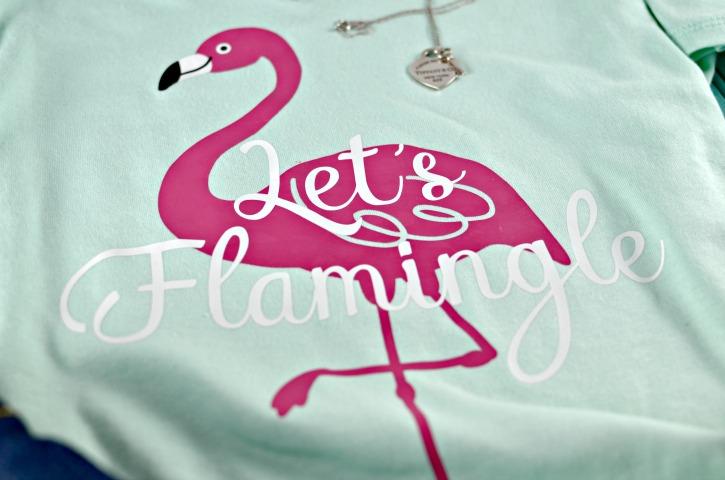 Let S Flamingle Diy Flamingo T Shirt Simply Darr Ling