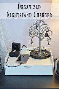 Easy DIY Nightstand Phone & USB Charger