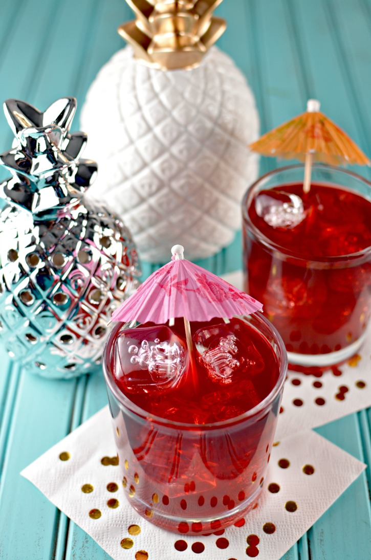 Spiked Passion Tea Lemonade - A Cocktail Recipe