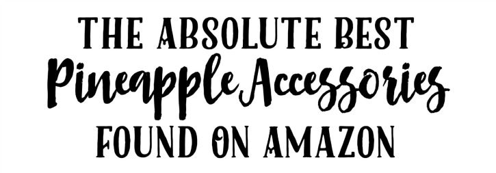 The Absolute Best Pineapple Accessories Found On Amazon