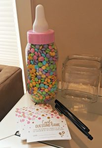 Pink and Gold Coed Baby Shower