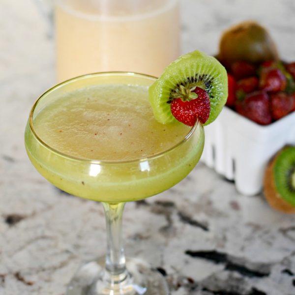 Strawberry Kiwi Lemonade Margarita – A Cocktail Recipe