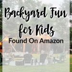 Backyard Summer Fun For Kids Found On Amazon