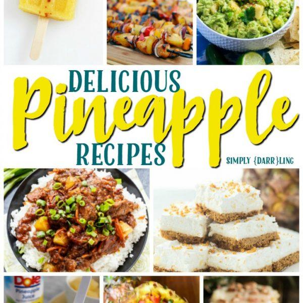 Delicious Pineapple Recipes