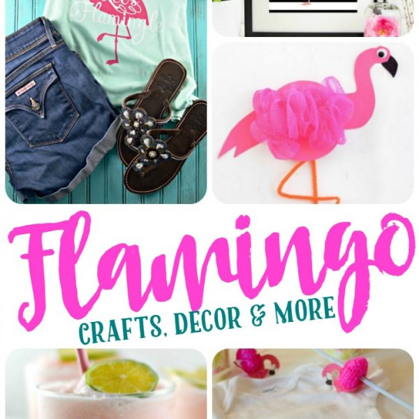 All Things Flamingo – Crafts, Decor & More!