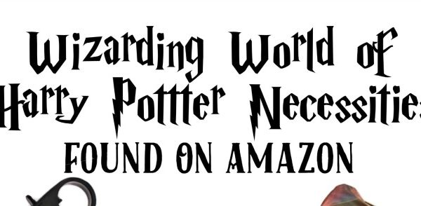 Wizarding World of Harry Potter Necessities Found On Amazon