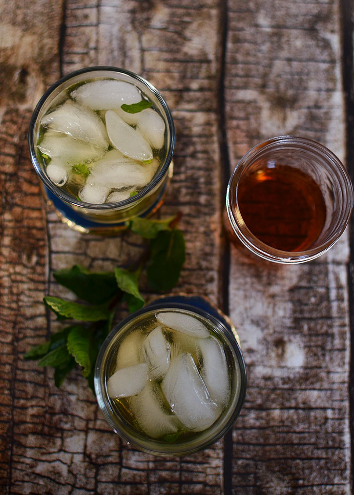 A Twist On The Classic Mint Julep - A Cocktail Recipe