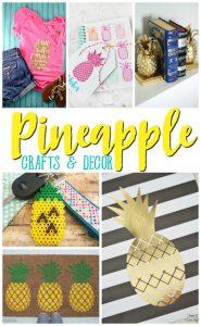 Amazing Pineapple Crafts & Decor