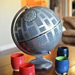 Star Wars Upcycled Globe Death Star