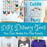 DIY Disney Tees You Can Make
