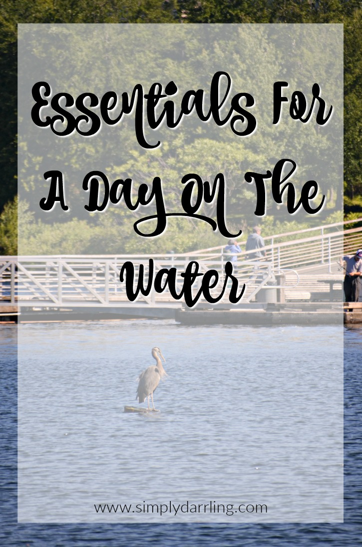 Essentials for a day on the water