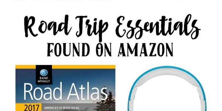 Road Trip Essentials Found On Amazon