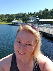 Selfie on Lake Washington