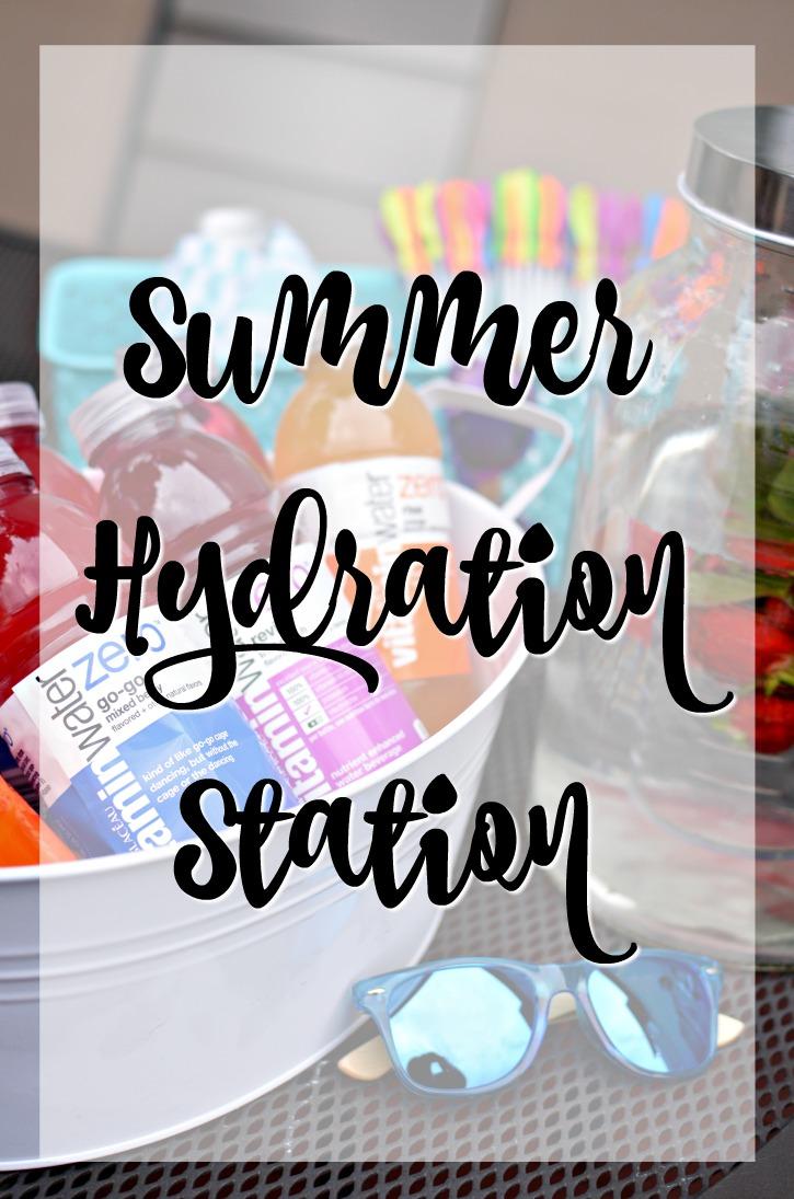 Summer Hydration Station w