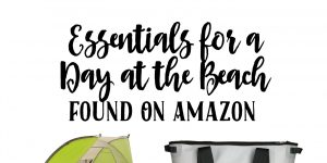 Essentials for a Day at the Beach – Found On Amazon